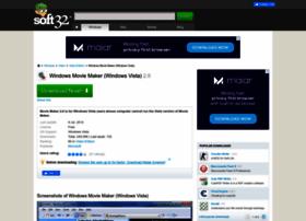 windows-movie-maker-for-vista.soft32.com