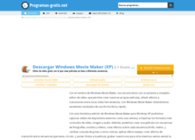 windows-movie-maker.programas-gratis.net