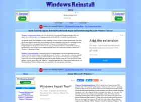 windows7.windowsreinstall.com