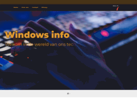 windowsinfo.nl