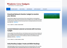 windowslivegadgets.com