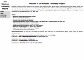 windowstimestamp.com