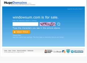 windowsum.com