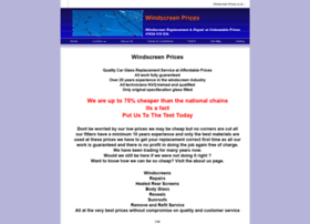 windscreen-prices.co.uk