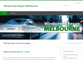windscreenrepairmelbourne.net.au