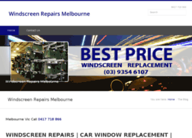 windscreenrepairsmelbourne.net.au