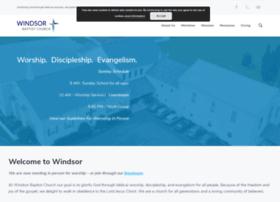 windsor-baptist.org
