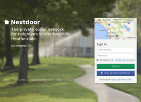 windsorhillsheatherdale.nextdoor.com
