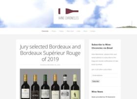 wine-chronicles.com