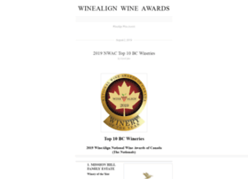 winealignawards.wordpress.com