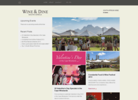 wineanddinesouthafrica.com