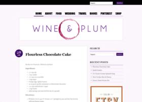 wineandplum.com