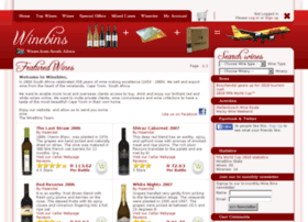 winebins.co.za