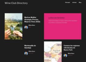 Wineclubdirectory.net