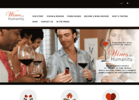 winesforhumanity.com