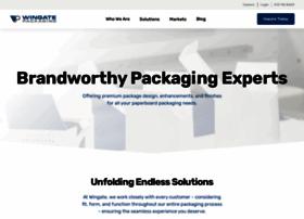 wingate-packaging.com