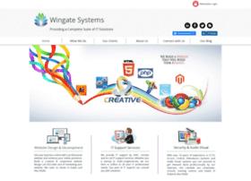 wingatesystems.com