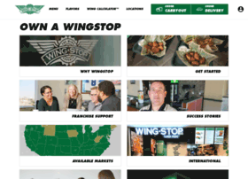 wingstopfranchise.com