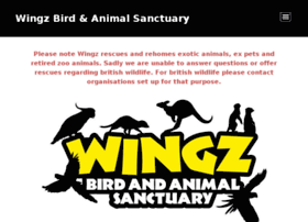 wingzbirdsanctuary.co.uk