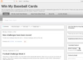 winmybaseballcards.com