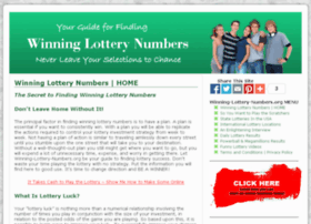 winning-lottery-numbers.org