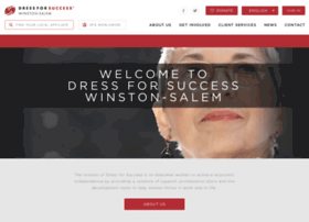 winstonsalem.dressforsuccess.org