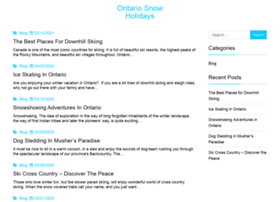 winter-vacations-ontario.com