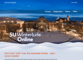 winter.syr.edu