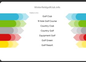 winterfieldgolfclub.info