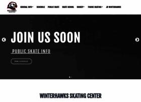 winterhawksskatingcenter.com