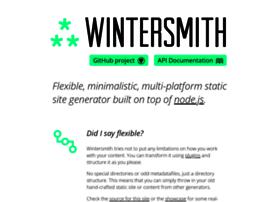 wintersmith.io
