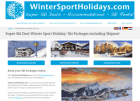 wintersportholidays.com