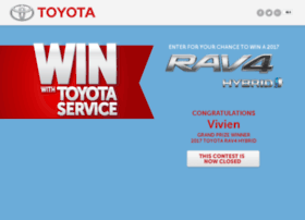winwithtoyotaservice.com