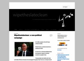 wipetheslateclean.org.uk