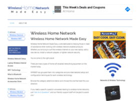 wireless-home-network-made-easy.com