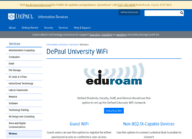 wireless.depaul.edu