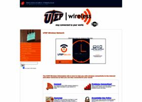 wireless.utep.edu