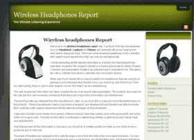 wirelessheadphonesreport.com
