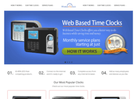 wirelesstimeclock.com