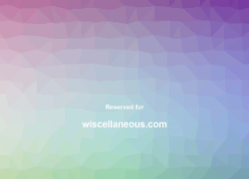 wiscellaneous.com