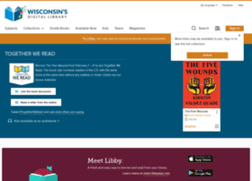 wisconsin.libraryreserve.com