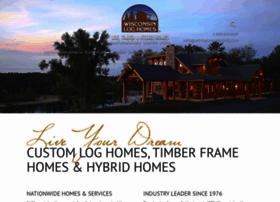 Log Cabin Builder Wisconsin Cabins Log Homes WI