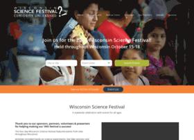 wisconsinsciencefest.org