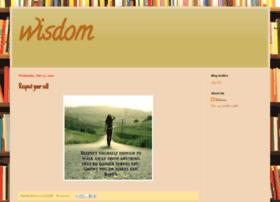 wisdom15.blogspot.com