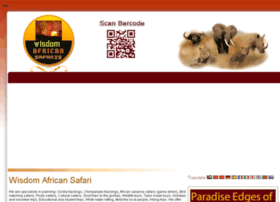 wisdomafricansafari.com