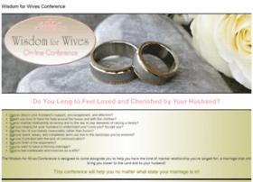 wisdomforwivesconference.com