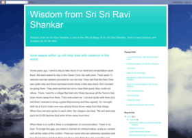 wisdomfromsrisriravishankar.blogspot.com