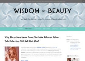 wisdominbeauty.com