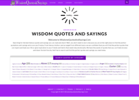 wisdomquotesandsayings.blogspot.com