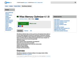 wise-memory-optimizer.updatestar.com